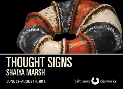 Shalya Marsh, Thought Signs Exhibition Card